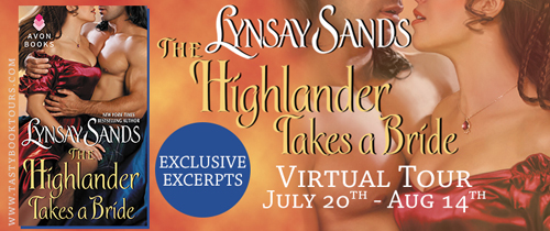 The Highlander Takes A Bride Book Tour