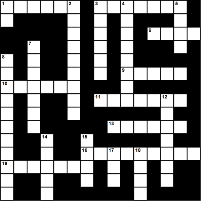 Argeneau Christmas Crossword