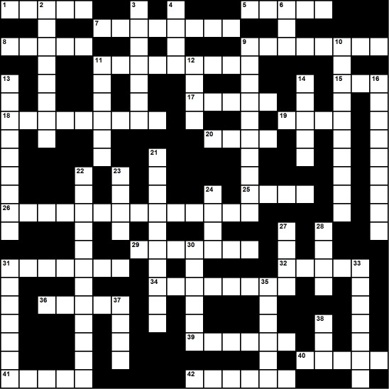 A Quick Bite Crossword